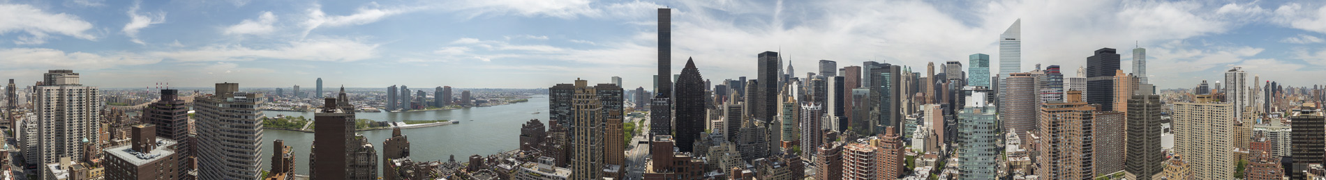 East Side NYC Drone Views
