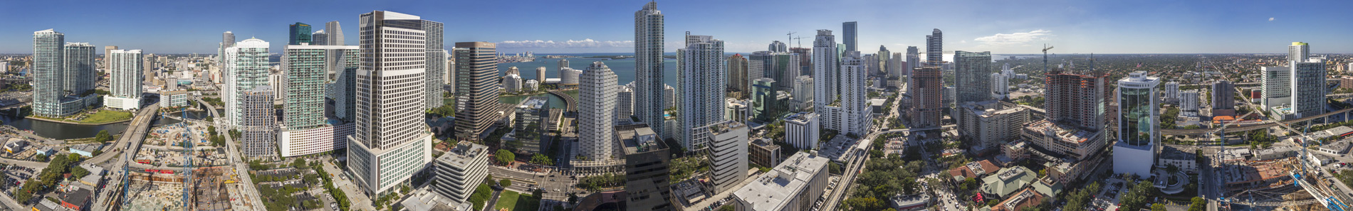 miami florida condo future views with 360 panoramic Shereical
